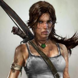 Lara Croft en 2014